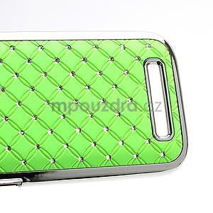 Drahokamové pouzdro pro HTC One SV- zelené - 4