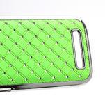 Drahokamové pouzdro pro HTC One SV- zelené - 4/5