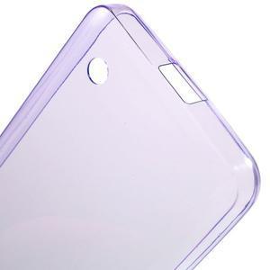 Ultratenký gelový obal na mobil Microsoft Lumia 550 - fialový - 4