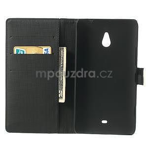 Peněženkové pouzdro pro Nokia Lumia 1320- bílé - 4