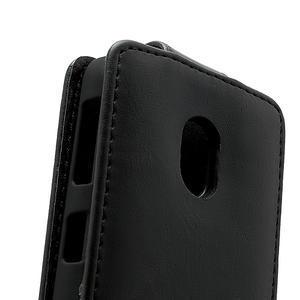 Flipové pouzdro na Nokia Lumia 620- černé - 4