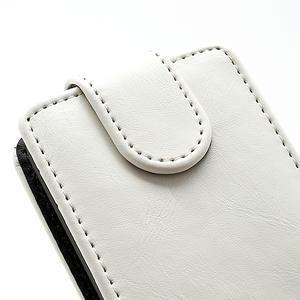 Flipové pouzdro na Nokia Lumia 620- bílé - 4