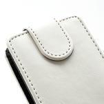 Flipové pouzdro na Nokia Lumia 620- bílé - 4/5