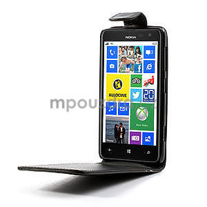 Flipové pouzdro pro Nokia Lumia 625- černé - 4