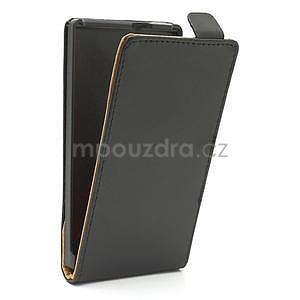 Flipové černé pouzdro pro Nokia Lumia 925 - 4