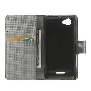 Peněženkové pouzdro na Sony Xperia L C2105 - meteor - 4