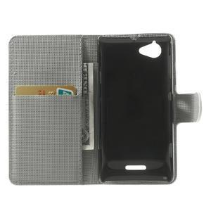 Peněženkové pouzdro na Sony Xperia L C2105 - zebrovité - 4
