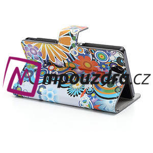 Peněženkové pouzdro na Sony Xperia Z C6603 - barevné vzory - 4