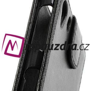 Flipové pouzdro na Sony Xperia Z1 C6903 - černé - 4