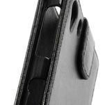 Flipové pouzdro na Sony Xperia Z1 C6903 - černé - 4/5