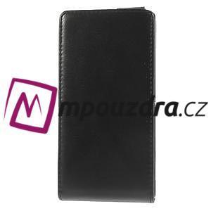 Flipové pouzdro na Sony Xperia M2 D2302 - černé - 4