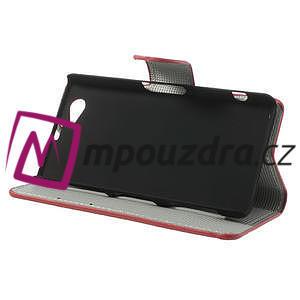 Peněženkové pouzdro na Sony Xperia Z1 Compact D5503 - USA vlajka - 4