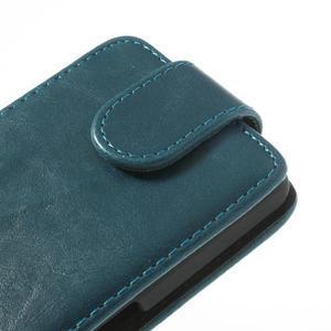 Flipové pouzdro na Sony Xperia Z1 Compact D5503- modré - 4