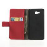 Peněženkové pouzdro na LG Optimus L9 II D605 - červené - 4/7
