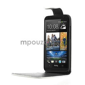 Flipové pouzdro pro HTC Desire 601- bílé - 4