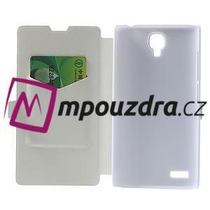 Peněženkové pouzdro na Xiaomi Hongmi Note- bílé - 4