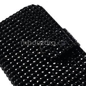 Černé pouzdro pro Samsung Galaxy S3 mini / i8190 - kamínkové - 4