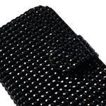 Černé pouzdro pro Samsung Galaxy S3 mini / i8190 - kamínkové - 4/5