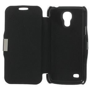 Flipové folio pouzdro na Samsung Galaxy S4 mini i9190- černé - 4