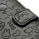 Peněženkové pouzdro na Samsung Galaxy S3 i9300- černé - 4/6