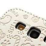 Peněženkové pouzdro na Samsung Galaxy S3 i9300- bílé - 4/6