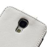 Flipové pouzdro pro Samsung Galaxy S4 i9500- bílé - 4/5