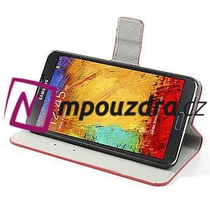 Peněženkové pouzdro na Samsung  Galaxy Note 3- UK vlajka - 4