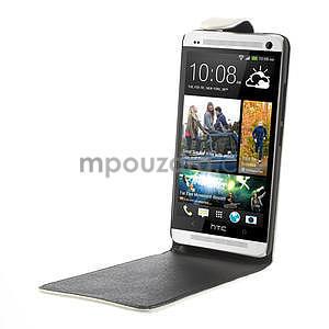 Flipové pouzdro HTC one Max- bílé - 4