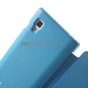 Flipové pouzdro pro LG Optimus L9 P760- modré - 4