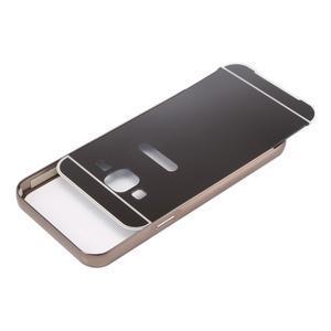 Odolný obal s kovovým obvodem na Samsung Galaxy J5 (2016) - černý - 4