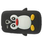 Silikonový TUČŃÁK pouzdro na Samsung Galaxy S3 mini i8190- černý - 4/7