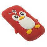 Silikonový TUČŃÁK pouzdro na Samsung Galaxy S3 mini i8190- červený - 4/7