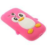 Silikonový TUČŃÁK pouzdro na Samsung Galaxy S3 mini i8190- růžový - 4/7