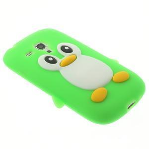 Silikonový TUČŃÁK pouzdro na Samsung Galaxy S3 mini i8190- zelený - 4
