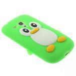 Silikonový TUČŃÁK pouzdro na Samsung Galaxy S3 mini i8190- zelený - 4/7