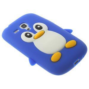 Silikonový TUČŃÁK pouzdro na Samsung Galaxy S3 mini i8190- modrý - 4