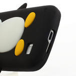Silikon 3D TUČŇÁK pro Samsung Galaxy S4 mini i9190- černý - 4/5