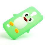 Silikon 3D TUČŇÁK pro Samsung Galaxy S4 mini i9190- zelený - 4/5