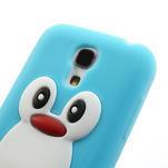 Silikon 3D TUČŇÁK pro Samsung Galaxy S4 mini i9190- světlemodrý - 4/6