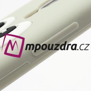 Silikonový Tučňák pouzdro pro Samsung Galaxy S4 i9500- šedý - 4