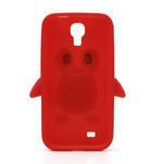 Silikonový Tučňák pouzdro pro Samsung Galaxy S4 i9500- červený - 4/7