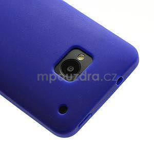 Silikonové pouzdro pro HTC one M7- modré - 4