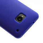 Silikonové pouzdro pro HTC one M7- modré - 4/6