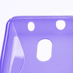 Gelové S-line pouzdro na Nokia Lumia 620- fialové - 4