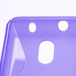 Gelové S-line pouzdro na Nokia Lumia 620- fialové - 4/5