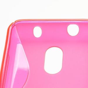 Gelové S-line pouzdro na Nokia Lumia 620- růžové - 4