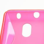 Gelové S-line pouzdro na Nokia Lumia 620- růžové - 4/5
