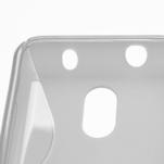 Gelové S-line pouzdro na Nokia Lumia 620- transparentní - 4/5