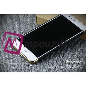 Luxusní odolný obal 3v1 na mobil Honor 8 - černý - 4