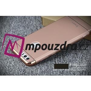 Luxusní odolný obal 3v1 na mobil Honor 8 - zlatorůžový - 4